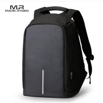 双肩包男电脑包多功能防盗书包学生青年背包双肩男包旅行休闲商务