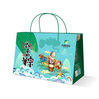 凡森 纯手工粽子 飘香粽礼盒 130g/枚 10枚装