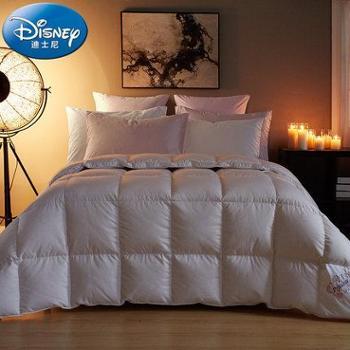 Disney/迪士尼全棉贡缎提花 白鸭绒被子 炫彩公主羽绒被