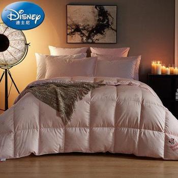 Disney/迪士尼全棉贡缎提花 白鸭绒被子 温柔米妮