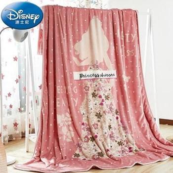 Disney/迪士尼云貂绒毛毯加厚珊瑚绒毯子200*230双层毛毯