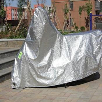 铝膜防雨防晒防尘摩托车Motorcyclecover电动车车罩车衣车套