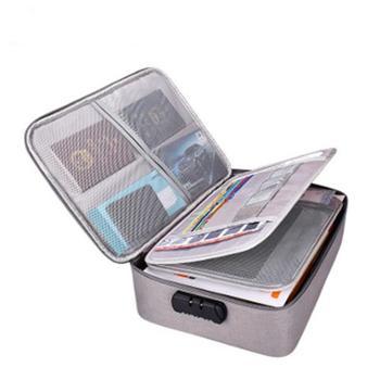 多层证件收纳包多功能档案票据A4重要文件户口本整理袋