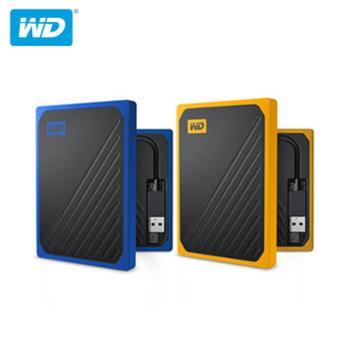 西部数据WD My Passport GO 移动固态硬盘 USB3.0 西数SSD移动硬盘