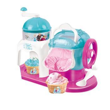 迪士尼雪糕机儿童冰激凌机玩具冰果机冰沙机自制女孩冰淇淋机可吃
