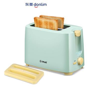 Donlim/东菱TA-8600烤面包机家用早餐吐司机2片迷你全自动多士炉面包机