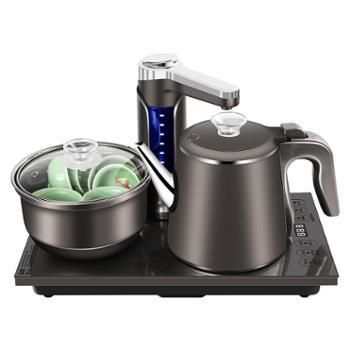 容声全自动上水电热水壶茶具家用不锈钢防烫电磁茶炉抽水式烧水壶