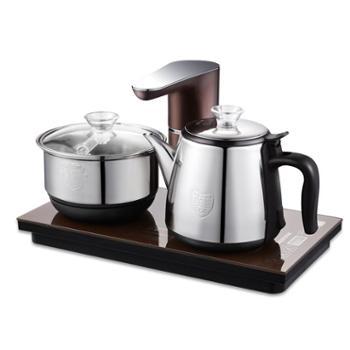 奥克斯全自动上水电热水壶抽水式泡茶壶茶炉功夫茶烧水煮茶器套装