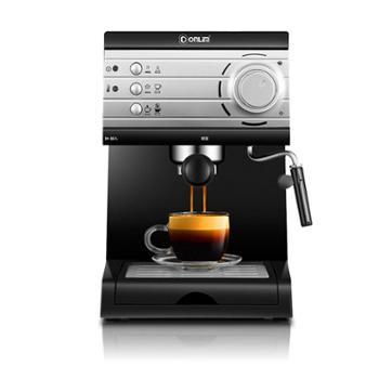 东菱DL-KF6001咖啡机家用小型意式半全自动蒸汽式打奶泡