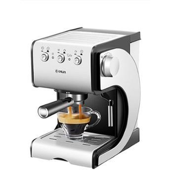 东菱DL-KF500S咖啡机家用小型意式半全自动蒸汽式打奶泡