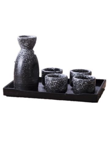 日式陶瓷酒具日本酒杯酒壶套装黄酒烧酒白酒杯清酒温酒瓶保温器