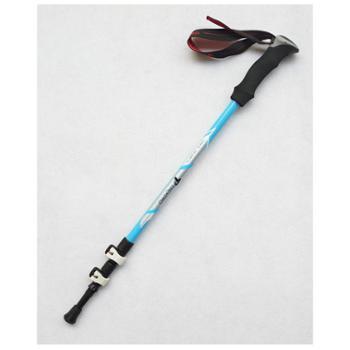 TREKPRO/特凯普轻三节外锁碳素纤维登山杖登山越野手杖TP801