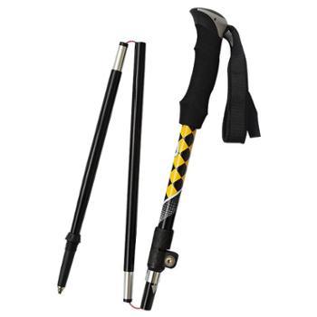 TREKPRO/特凯普250g轻碳素纤维折叠杖碳素登山杖TP805
