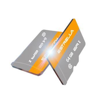ESTRELLA内存卡Micro128Gsd卡数码储存高速手机卡行车记录仪class10