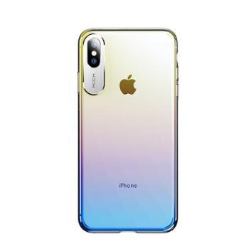ROCK 适用苹果iPhoneXs max手机壳 Xr渐变防摔套 晴典系列保护壳