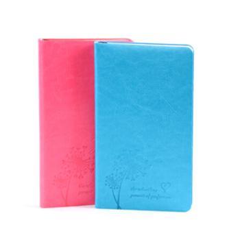 现货A5贴芯记事本1个韩式软面平装日记本子文具软皮PU笔记本1个