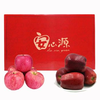 【华园】新品甘肃红富士苹果+花牛苹果7斤12颗精品装