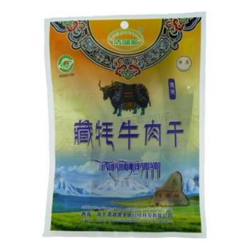 清湖源 藏牦牛肉干 原味200g/袋