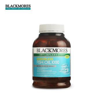Blackmores/澳佳宝深海鱼油无腥味400粒2020年8月到期