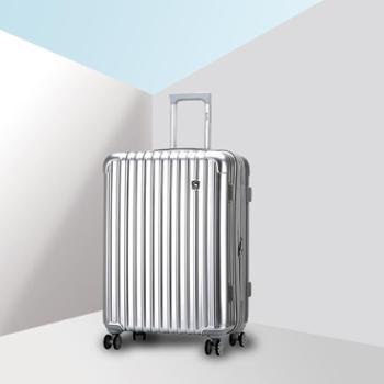 爱华仕20寸万向轮拉杆箱 男女时尚旅行箱包商务行李箱