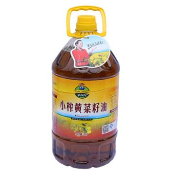 辛农民小榨黄菜籽油(5L装)