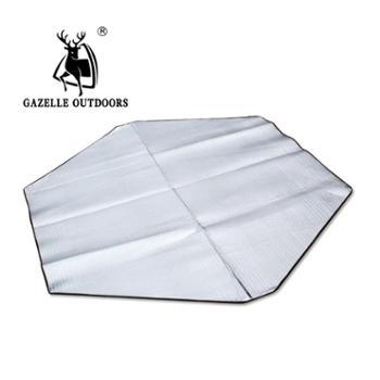 徽羚羊大号双面铝膜防潮垫 野餐垫爬行垫 地垫地席 六边形