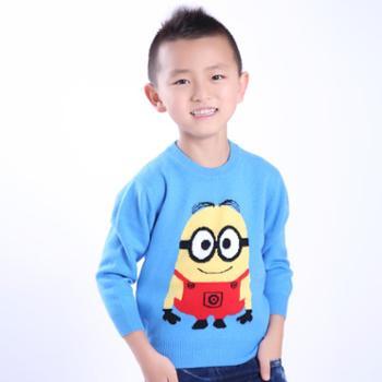 牧都绒语新款男女童套衫ETW7041-42
