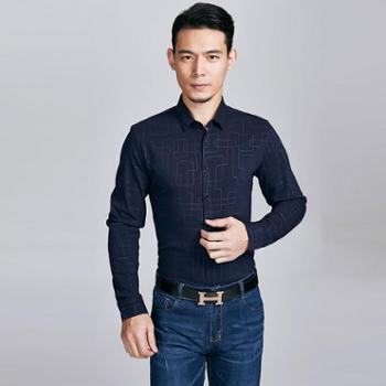 牧都绒语男士衬衫FM9121-23