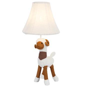 巴里空间 儿童房台灯可爱动物灯创意个性台灯萌宠造型台灯灯卧室书房台灯灯温馨台灯床头台灯羊驼台灯客厅沙发角走廊照明装饰两用台灯.