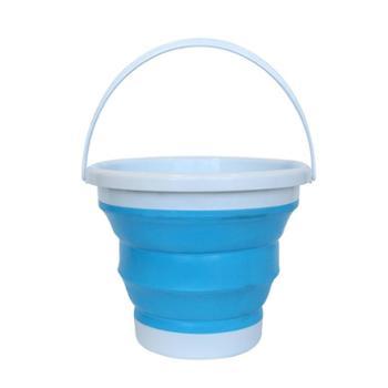 悠莱弗Yoale户外露营便携式折叠水桶家用清洁洗车可伸缩钓鱼打水桶