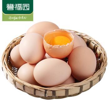 誉福园农家鸡蛋10枚装新鲜鸡蛋