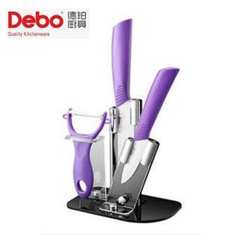 德铂/DEBO DEP-263森贝格(套装刀具) 陶瓷刀刀具套装4件套