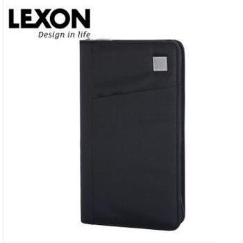 上/LEXON 长款钱包男卡包多功能商务证件夹 LNR0305