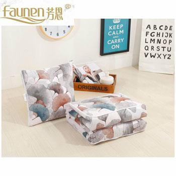 芳恩家纺 FN-R722 全棉印花抱枕被 多功能抱枕被子两用汽车沙发纯棉靠垫被办公靠垫空调被