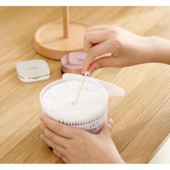 化妆棉签口红化妆用卸妆棉棒一次性无菌卫生木棒