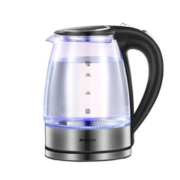 山水-玻璃电热水壶1.8L