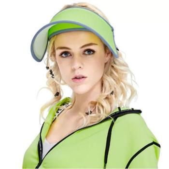 2019韩国VVC遮阳帽夏季空顶帽太阳帽防紫外线防晒帽子时尚款