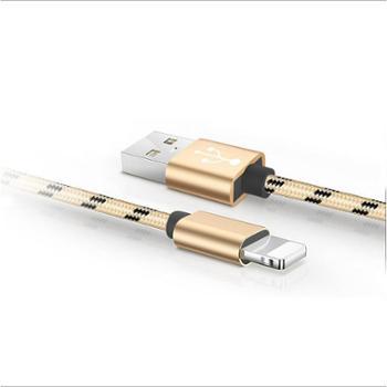 苹果iPhone数据线编织尼龙华为type-c三星vivo OPPO安卓USB快速手机充电线