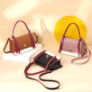 doodoo上新chic斜挎小包包女新款时尚韩版手提复古单肩小方包D8789