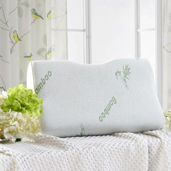 泽盟竹纤维记忆枕头枕芯单人学生成人护颈椎枕