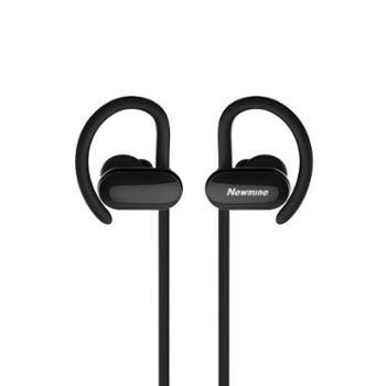 纽曼SL85 石墨烯运动蓝牙耳机 双电池车载耳机 耳挂式防脱落手机入耳式耳机