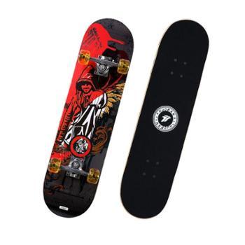 运动伙伴滑板初学者男女成人儿童刷街代步枫木双翘板长板直板嘻哈