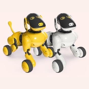 TBZ可旺二代AI智能仿真机器狗 儿童礼物智能玩具狗 遥控电动语音对话互动早教编程智能机器狗 Ai人声互动 儿童成人智能电动礼物蓝牙音响