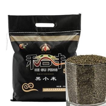 禾谷丰黑小米无纺布袋2.5kg