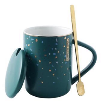 蒂范陶瓷杯创意水杯伴手礼马克杯