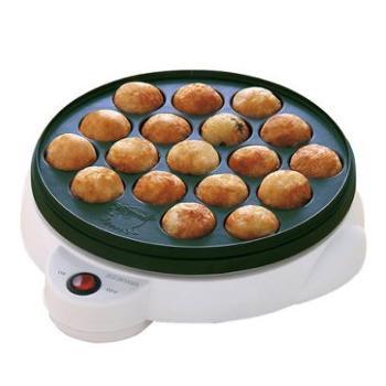 爱丽思IRIS 家用章鱼烧机器 章鱼小丸子 铁板烧电烤盘不粘爱丽丝