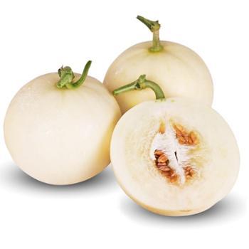 阎良甜瓜精选约10斤装 新鲜蜜瓜当季水果白皮香瓜鲜甜净果8.5-9斤