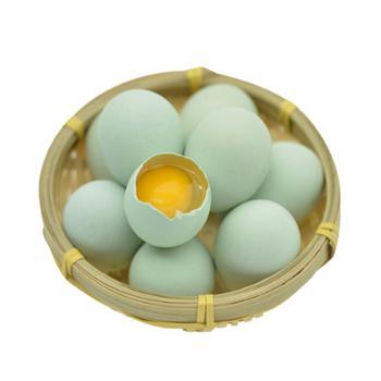 幸福村 牌山林散养乌鸡蛋20枚一箱农家散养