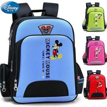 迪士尼男童一年级三1女童3女孩4男孩5米奇6-12周岁儿童书包小学生