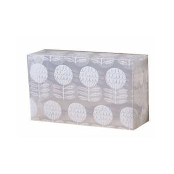美当家印花透明鞋盒抽屉式2件-30cm-印花三角